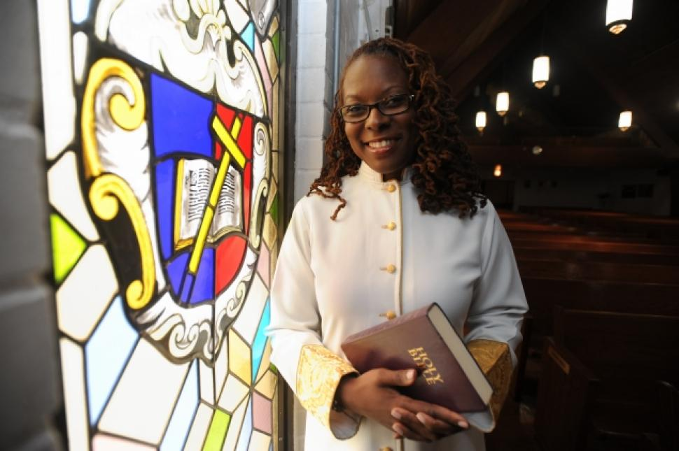 Rev. Lisa Jenkins Baptist Church First Female Pastor