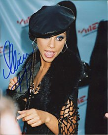Alicia Keys signed