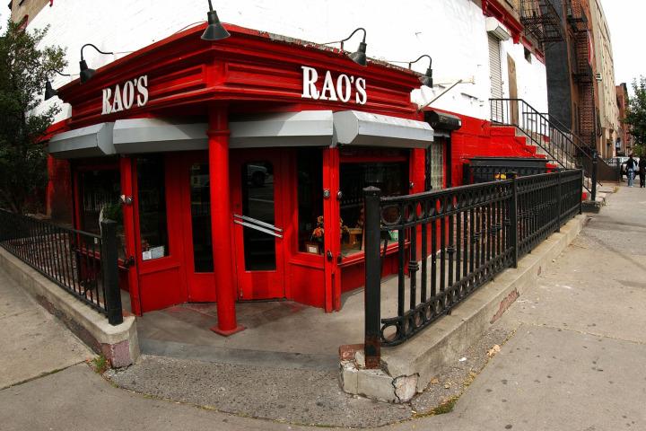 Sopranos' Star's Rao's Restaraunt