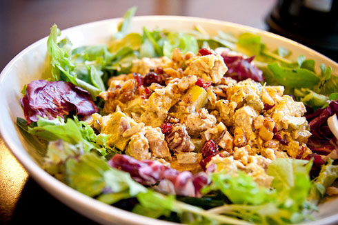 Chef Marcus Samuelsson's  Curry Chicken Salad Recipe