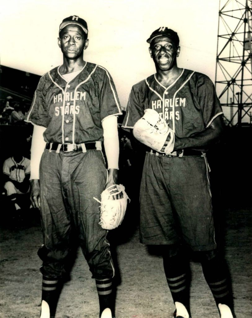 Satchel Paige & Goose Tatum Harlem Stars Negro League 8x10 B&W Photo