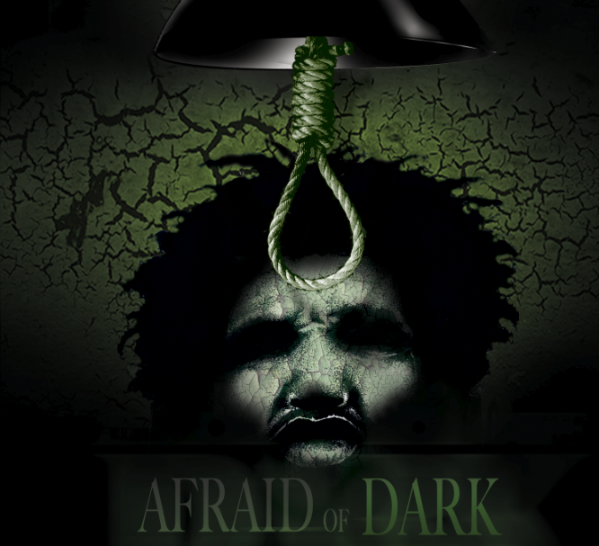 afriad of the dark poster