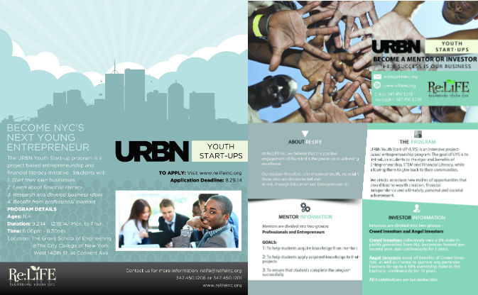 URBN flyer 2014