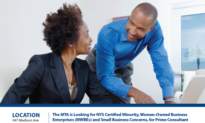 MTA Certified Minority Women Owned Business