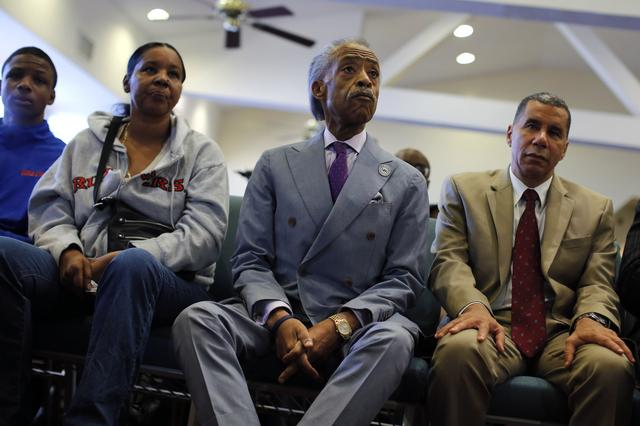 sharpton and more at eric garner rally