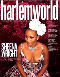 sheen wright in harlem world magazine