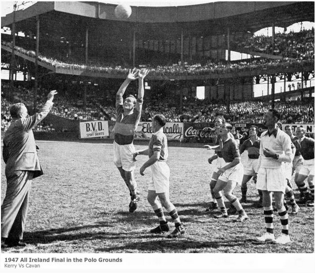 1947 all ireland final in the polo grounds in harlem