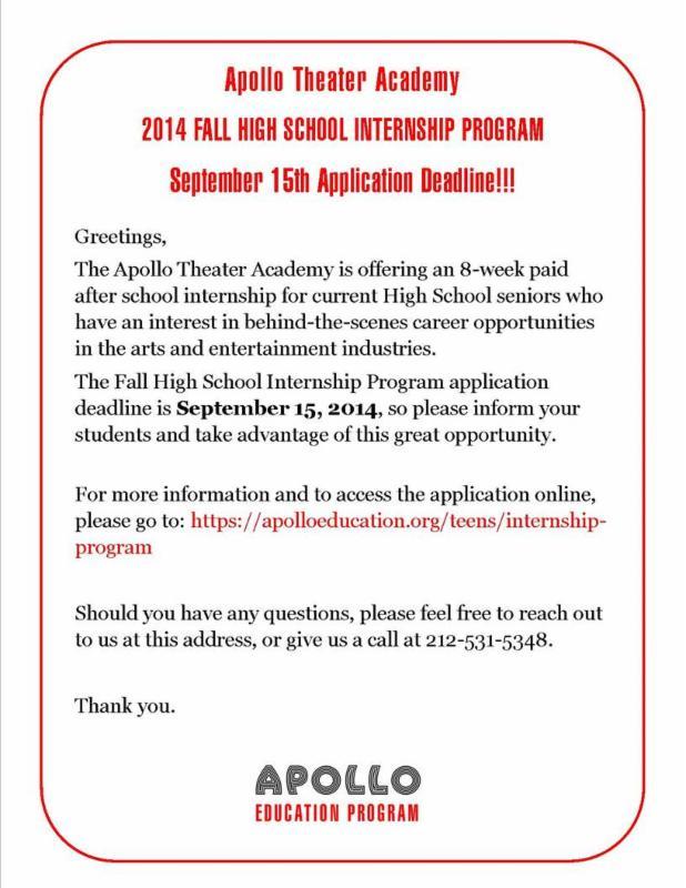 apollo internships