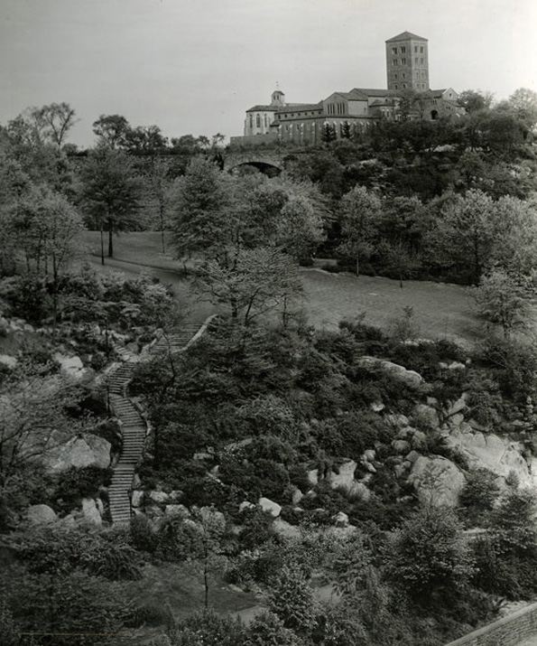 The Cloisters museum and gardens, 1938