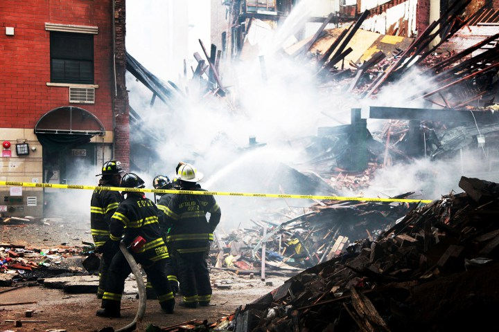 Harlem Fire and Building Collapse