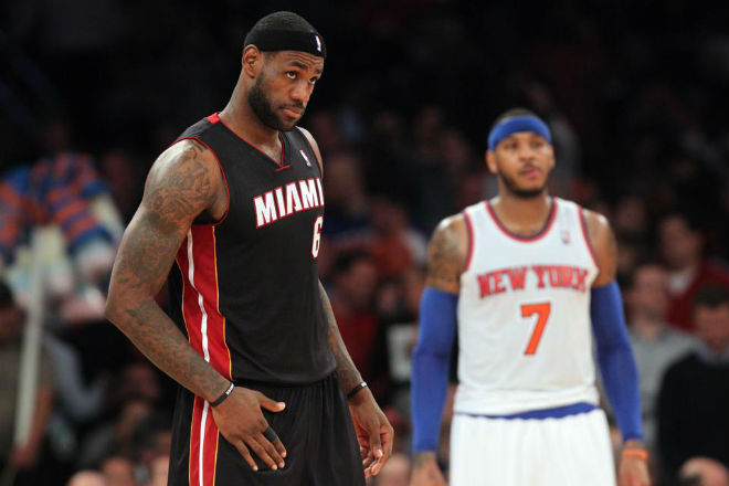 lebron and melo anthony