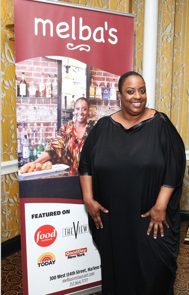 melba at food network event1