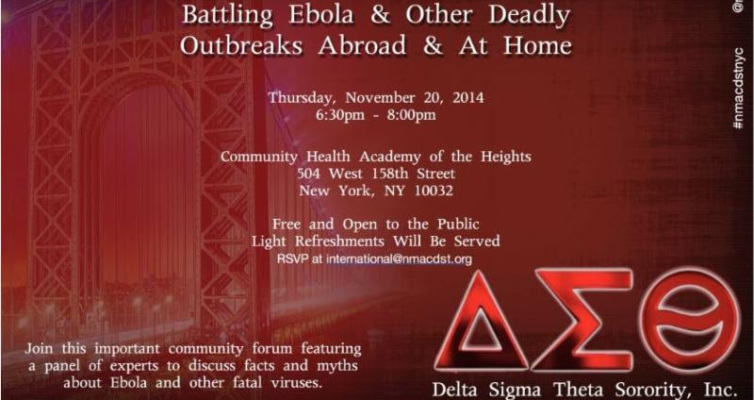 International Conversation Series: Battling Ebola And More