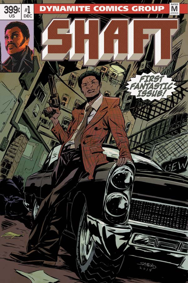 Shaft Issue 1 Cover Art by Sanford Greene_Courtesy of Dynamite Entertainment