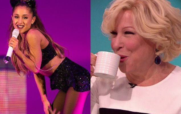 Harlem's Bette Midler Criticizes Ariana Grande For Being To Sexual