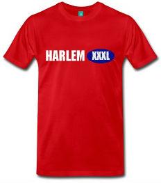 harlem xxxl tshirt