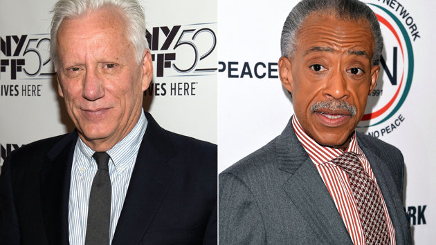 James Woods and Rev. Al Sharpton (Getty Images)