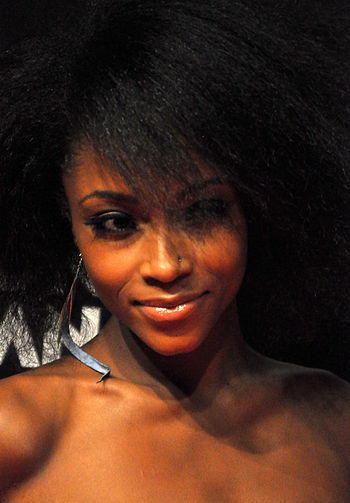 "English: Yaya DaCosta attending ""To John ..."