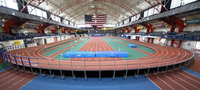 track at the armory