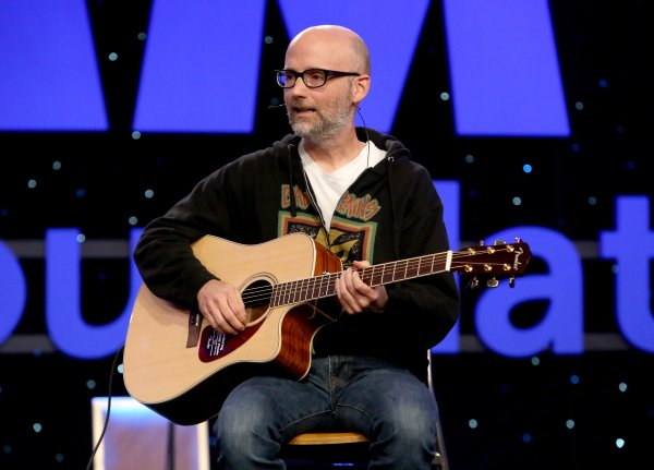 moby in la for music festival
