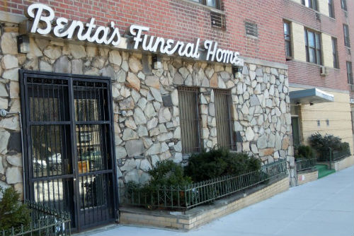 bentas funreal home in harlem