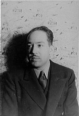 Langston Hughes, novelist and poet, photograph...