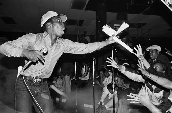 Almighty KG of the Cold Crush Brothers at Harlem World 1981_ Photography by Joe Conzo