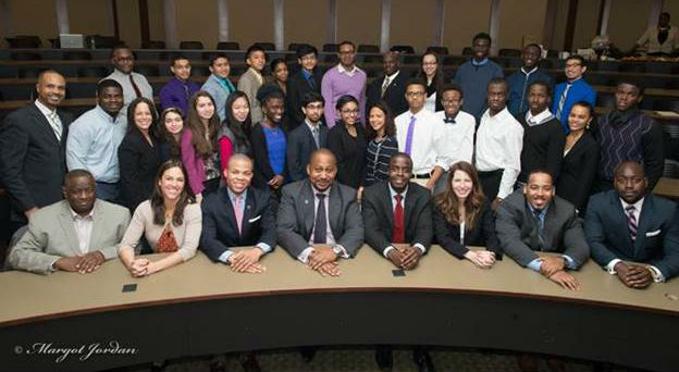 NYC Teens Learn From The Pros At One Hundred Black Men