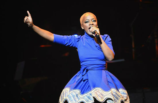Kimberly Nichole performs onstage during the 10th Annual Apollo Theater Spring Gala at The Apollo Theater_Photo by Shahar Azran for WireImage