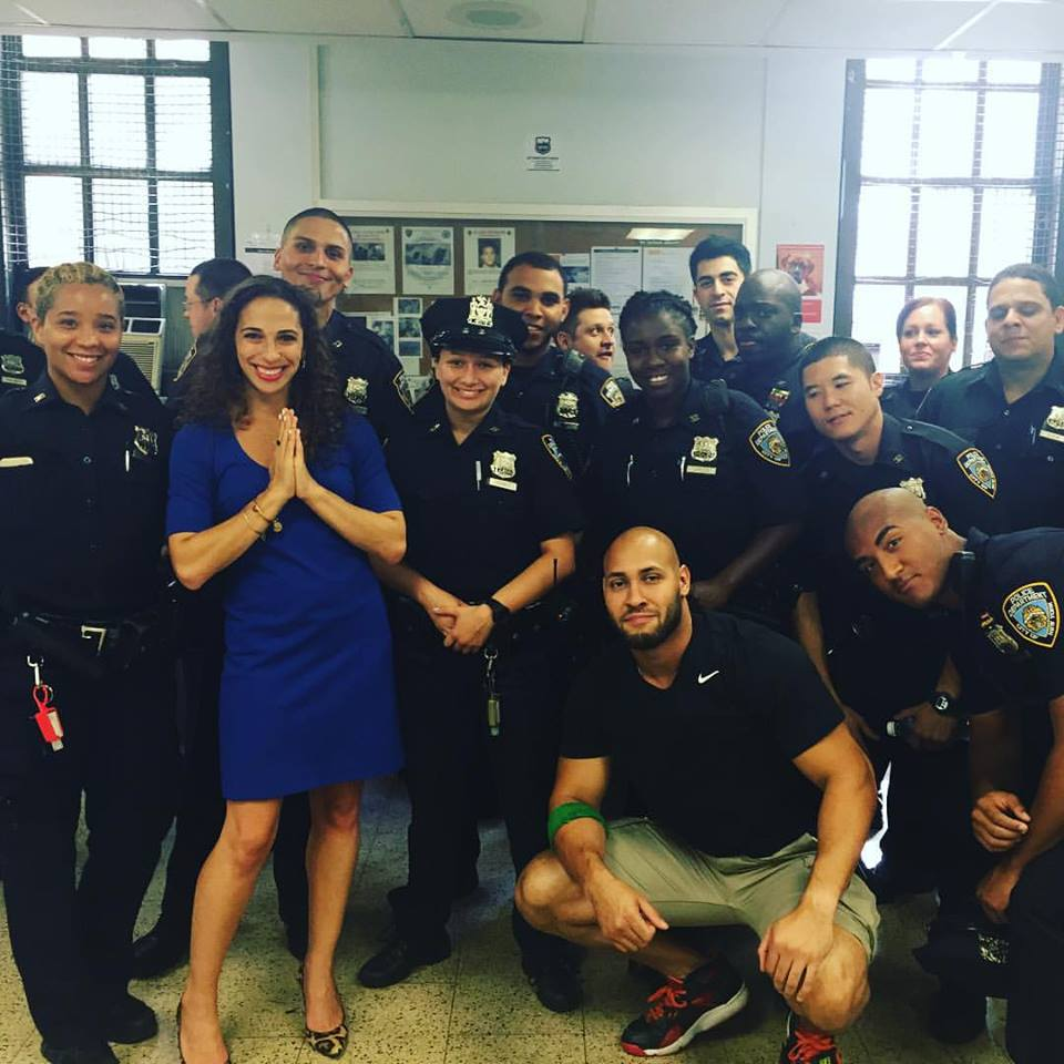 kara land yoga extends to nypd