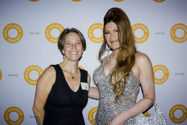 Courage Awards Honoree Armani Teighlor and AVP's Legal Director Virginia Goggin_Credit Gabriel Lee