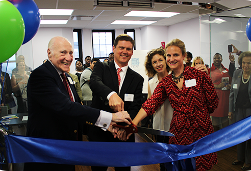 heaf ribbon cutting ceremony
