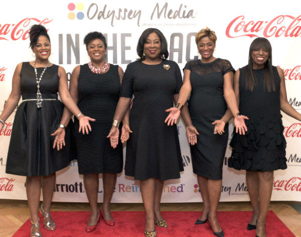 In the Black attendees with Linda Spradely Dunn-center and Mikki Taylor-far right_Courtesy of Odyssey Media