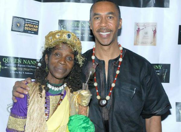 Maroon Queen Mamam G and Filmmaker Roy T1