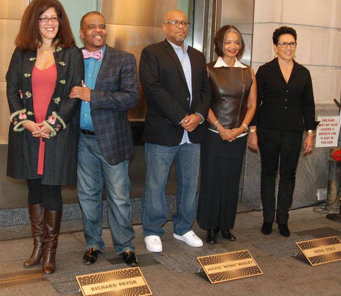 Pryor, Foxx, And Moms In Apollo Walk Of Fame
