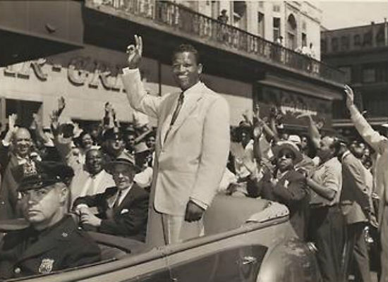 sugar ray robinson in harlem