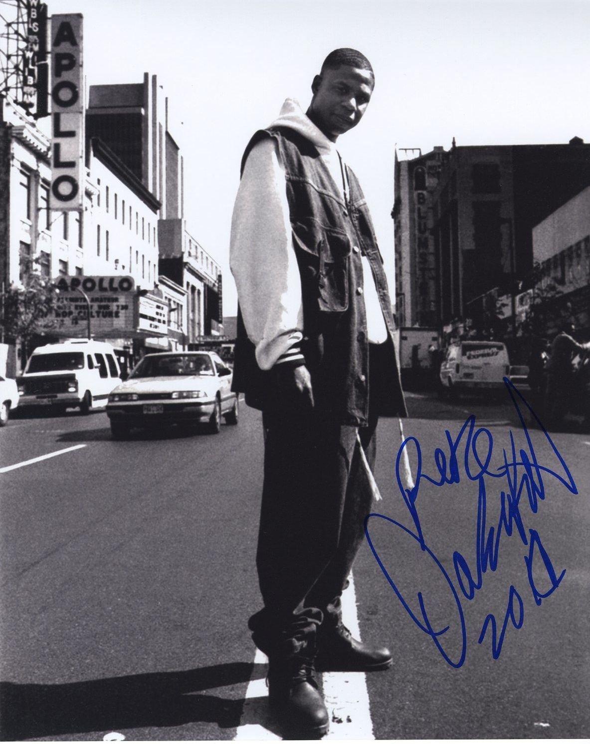 dougie freah signed photo