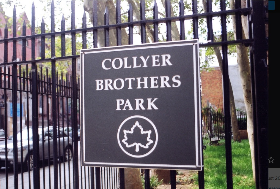 harlem's collyers brother park
