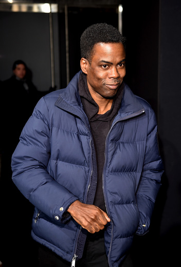 Chris Rock attends the FENTY PUMA by Rihanna AW16 Collection during Fall 2016 New York Fashion Week
