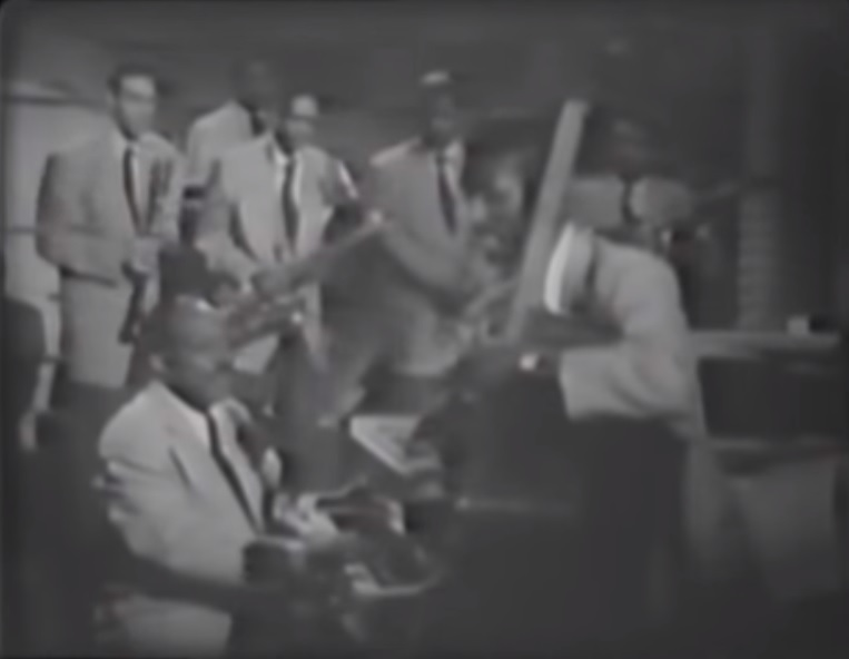 count basie band at the apollo theater in harlem