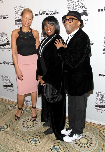 Tonya Lewis Lee, LaTanya Richardson Jackson and Spike Lee