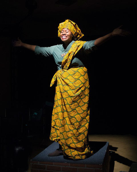 An American Drum Circle - Nneoma Nkuku - Photo by Martha Granger