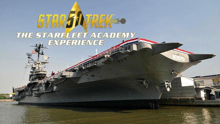 Star Trek The Starfleet Academy Experience