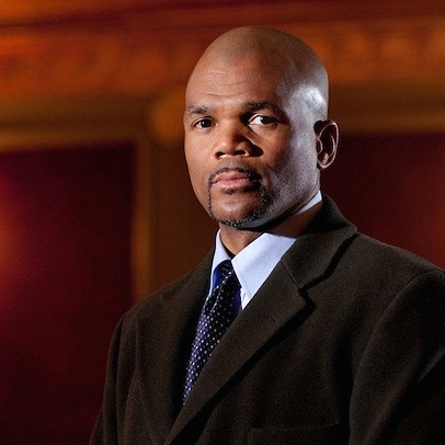 WATERBURY, CONNECTICUT- January 8, 2011: Hip-Hop icon Darryl McDaniels a.k.a. D.M.C. formerly of the legendary rap group Run-DMC photographed on the motion picture set of Hard Luck. (Photo by Robert Falcetti)