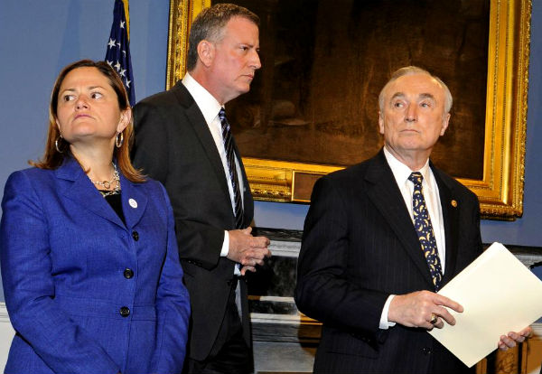 melissa-mark-viverito-de-blasio-bratton