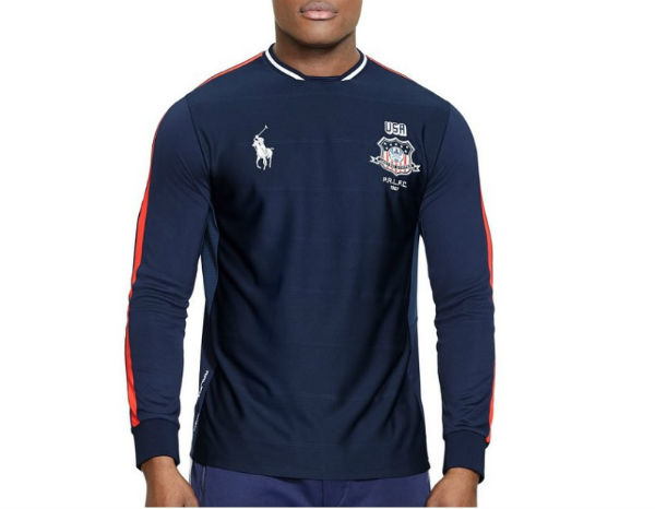 ... Polo Sport Ralph Lauren men\u0027s long sleeve jersey shirt. Harlem usa1 1.  Get it right now during the Olympics with free shipping.