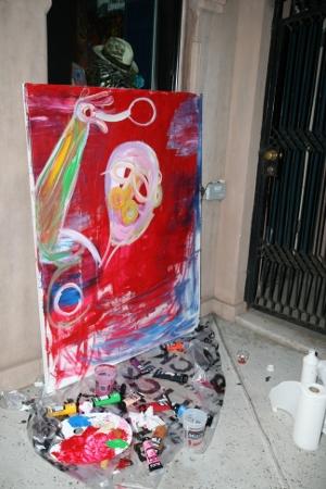 Cavier Coleman Painting