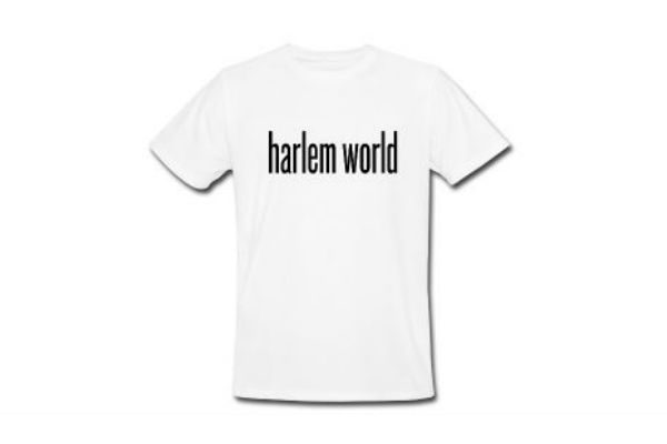Harlem World Tee Organic At Harlem World Gear
