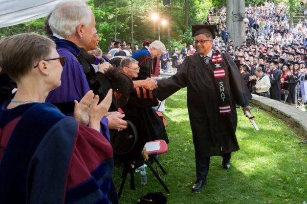 Swarthmore Graduation 2020.After 42 Years Swarthmore S 1975 Class President From