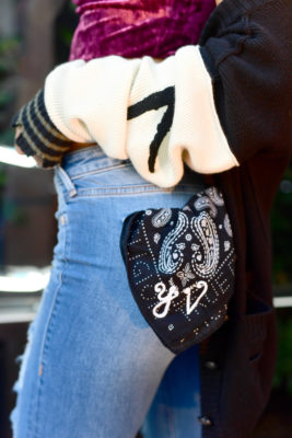 3de13b1a5 Los Angeles  Jordyn Woods And Other Stars At True Religion s New ...